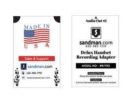 #7 pentru Product Label Design de către nobelbayazidahm9