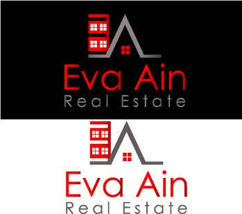 Penyertaan Peraduan #16 untuk I am looking for a sleek and modern logo for my real estate business. The name is Eva Ain Real Estate and my initials are EA.  You can use a house or not, I am okay with either. I am looking for silver/black or silver/black/red. Thank you!