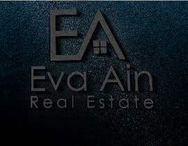 #25 untuk I am looking for a sleek and modern logo for my real estate business. The name is Eva Ain Real Estate and my initials are EA.  You can use a house or not, I am okay with either. I am looking for silver/black or silver/black/red. Thank you! oleh ihsanaryan