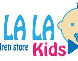 Nro 22 kilpailuun Logo for Children Store käyttäjältä KICDESIGN
