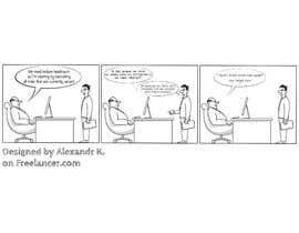 AlxKoss tarafından New OneFTE comic art partner search için no 23