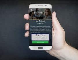 Nro 32 kilpailuun Design HTML/CSS Mobile landing page and Coupon Page käyttäjältä mdsyedurrahman