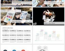 sumaiya505 tarafından Create a Powerpoint Template/master based on our brand identity için no 5