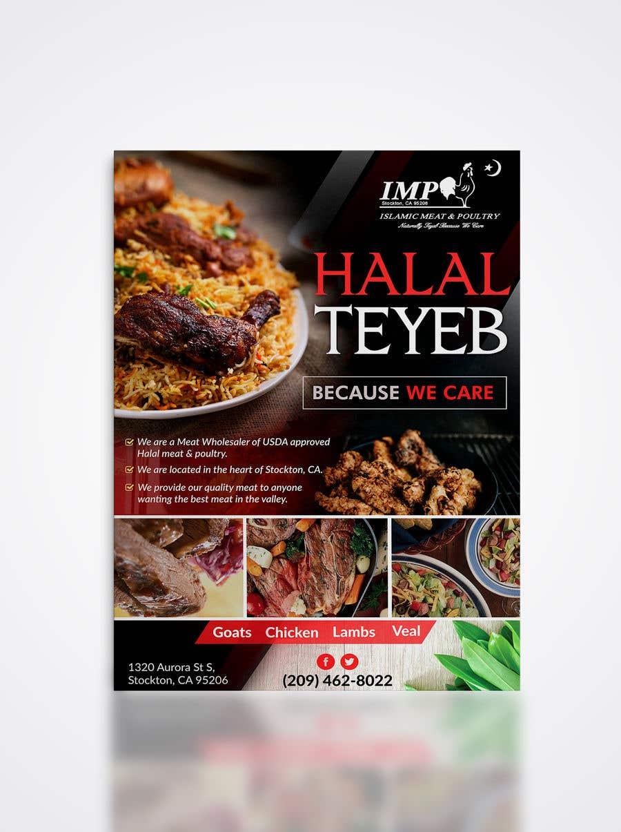 Kilpailutyö #117 kilpailussa Create a poster advertising chicken meat