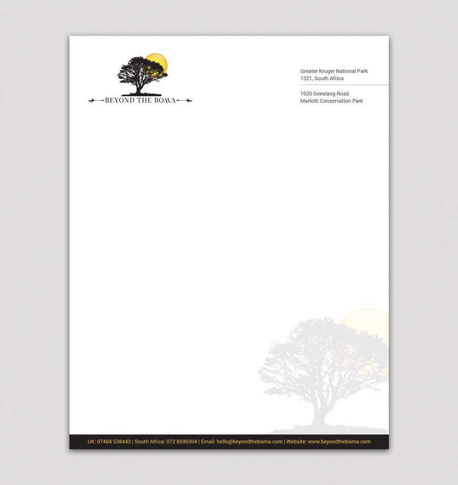 Kilpailutyö #5 kilpailussa Letterhead design