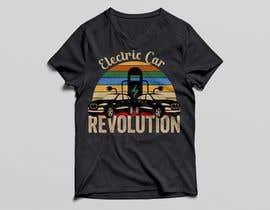 nº 97 pour Create a funny sticker/t-shirt/mug design promoting electric cars par soikot08