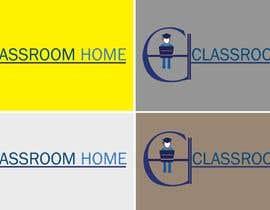 nº 55 pour Logo for an online educational website Classroom Home par laraibkay