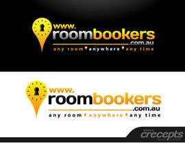 #247 för Logo Design for www.roombookers.com.au av crecepts