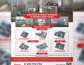 #109 para Develop Student Housing Marketing Flyer/Poster por graphicshero
