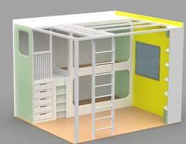 #35 pentru Design a cool bed for my two boys (5 and 2). de către nicogiudiche