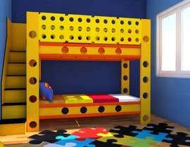 #50 pentru Design a cool bed for my two boys (5 and 2). de către Rinarto