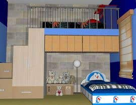 #8 pentru Design a cool bed for my two boys (5 and 2). de către chaconlyka8