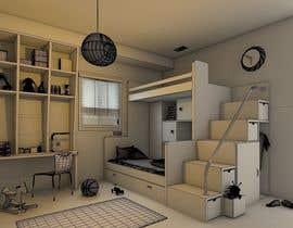 #20 pentru Design a cool bed for my two boys (5 and 2). de către arcmalik07