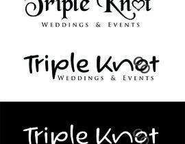 nº 16 pour Triple Knot Weddings & Events par designgale