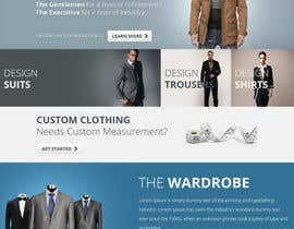 tania06 tarafından Website Design for Magento Ecommerce Site - Mens custom clothing için no 13
