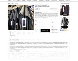 dragnoir tarafından Website Design for Magento Ecommerce Site - Mens custom clothing için no 29