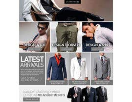 mughikrish tarafından Website Design for Magento Ecommerce Site - Mens custom clothing için no 9