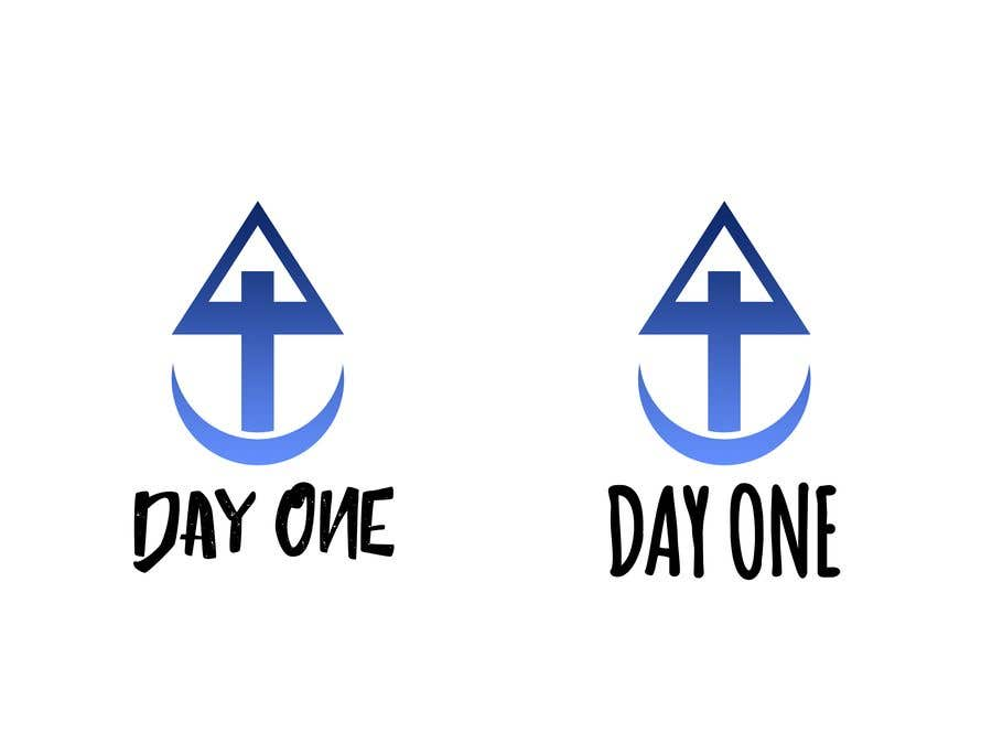Penyertaan Peraduan #18 untuk Logo. Company name is Day One. Logo is combo of the major religious symbols. Cross. Star of David. And moon/Muslim.  With the combo it appears to form a boat. The boat is a symbol of unity and world salvation and peace and harmony.
