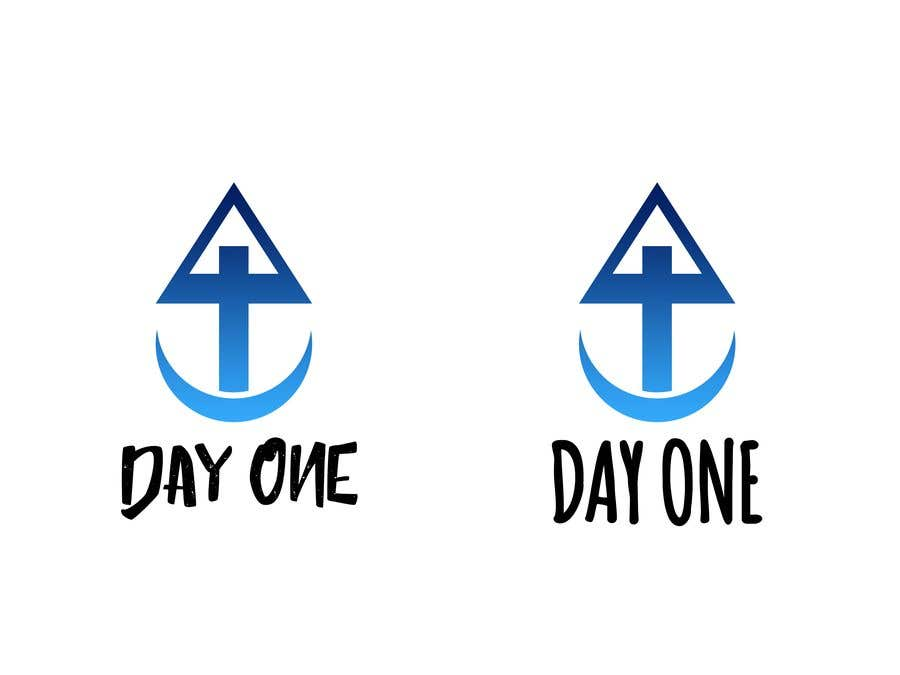 Penyertaan Peraduan #19 untuk Logo. Company name is Day One. Logo is combo of the major religious symbols. Cross. Star of David. And moon/Muslim.  With the combo it appears to form a boat. The boat is a symbol of unity and world salvation and peace and harmony.