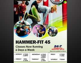 #26 for Re-design flyer for HF45 classes af sawah75pk