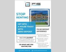 Nro 102 kilpailuun Create a flyer - No Deposit Homes käyttäjältä darbarg