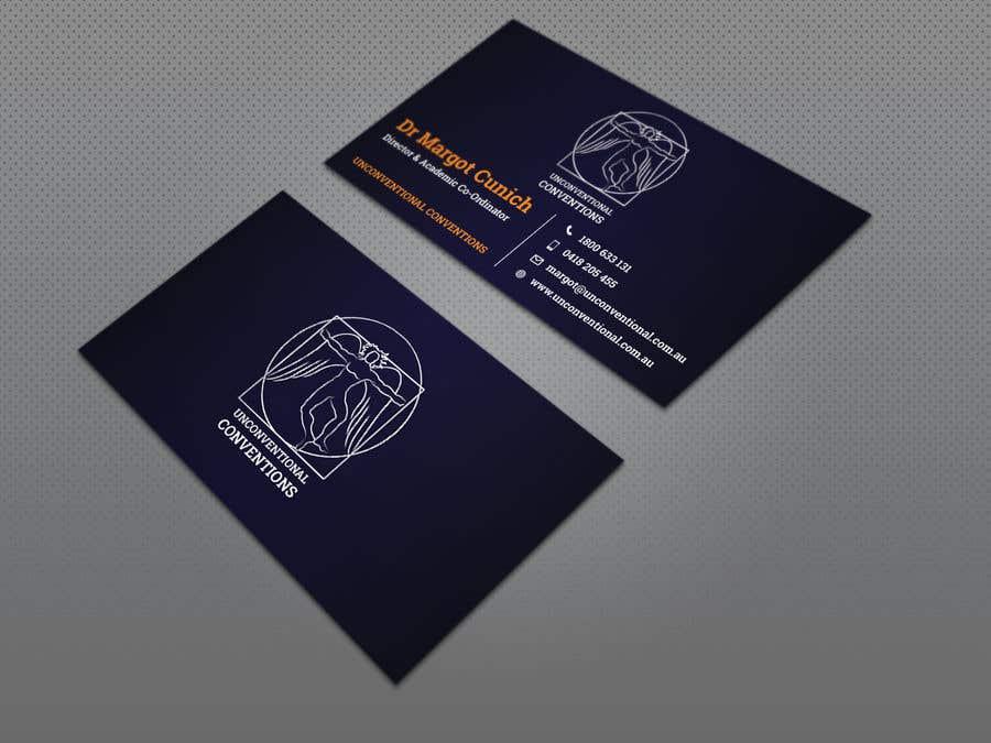 Kilpailutyö #203 kilpailussa Design a business card