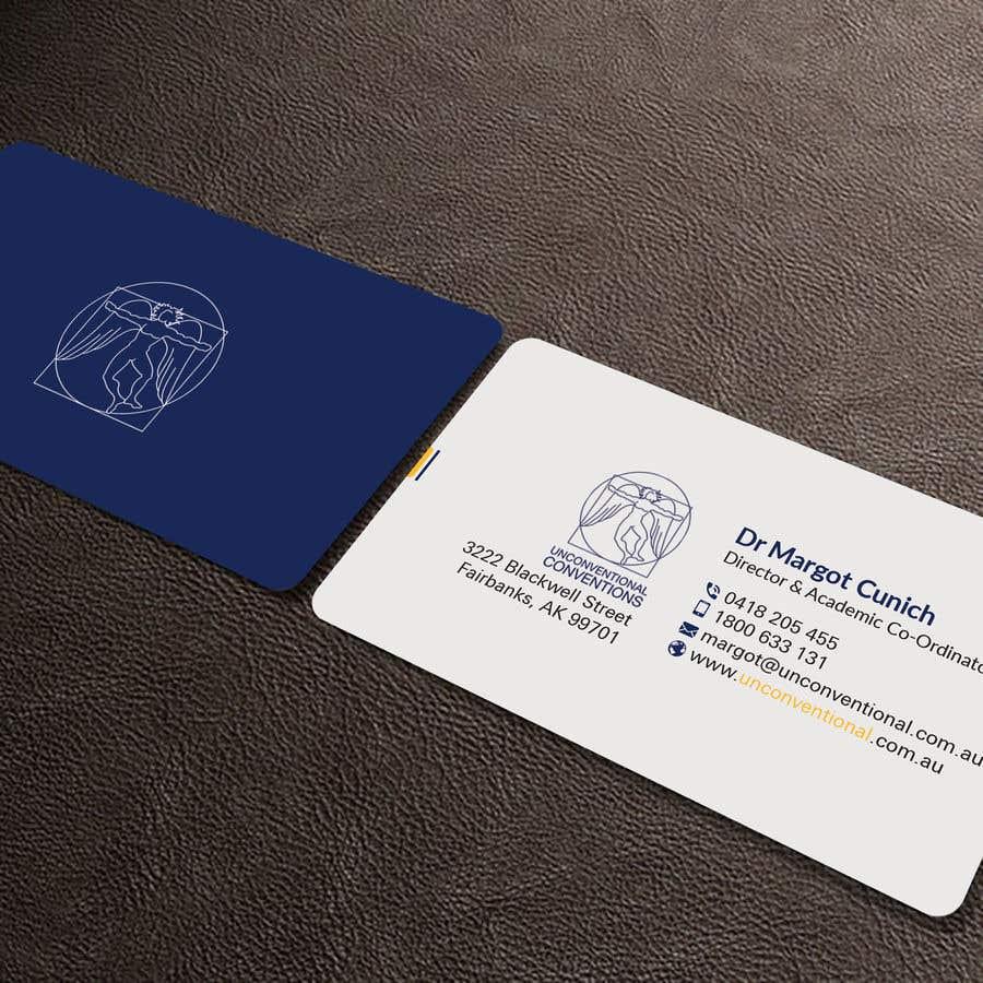 Kilpailutyö #159 kilpailussa Design a business card