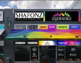 "#42 untuk Design Shop Front for ""Liquor World"" retail store oleh bresticmarv"