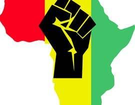 #11 za Black Power Fist with Afro od robiulislamrana