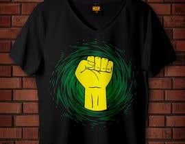 #17 za Black Power Fist with Afro od rabbya57