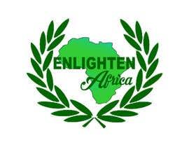 Nro 21 kilpailuun Redesign the following packaging using the two logos of Enlighten Africa and Enlighten International käyttäjältä istahmed16