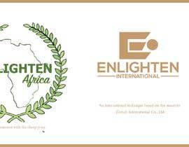 Nro 18 kilpailuun Redesign the following packaging using the two logos of Enlighten Africa and Enlighten International käyttäjältä habeeba2020