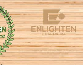 Nro 19 kilpailuun Redesign the following packaging using the two logos of Enlighten Africa and Enlighten International käyttäjältä habeeba2020