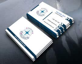 #146 za Need maritime business Card Design with colours of my logo od Kajol2322