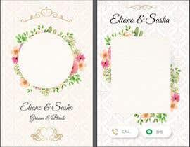 #13 za Mobile Wedding Invitation Theme od harrisonRosevich