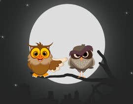 #16 za Funny Looking Owl With Big Eyes In A Dark Environment od jahir2444
