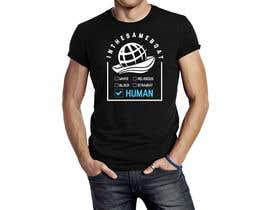 #45 for T-shirt design based on existing logo (#inthesameboat) by Jbroad