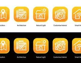nº 26 pour URGENT - Design 5 icons for Property Developer website par zeustubaga