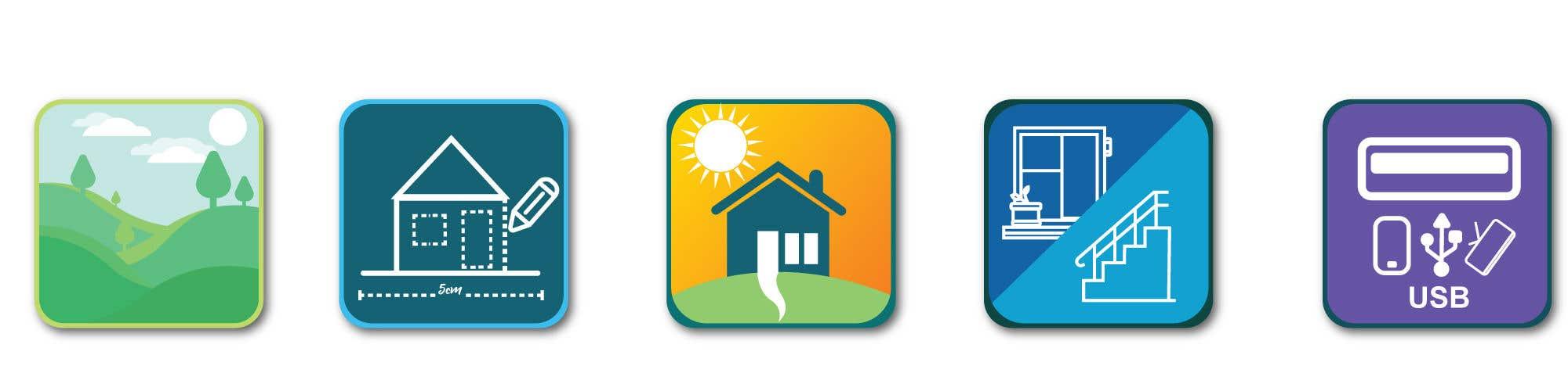 Natečajni vnos #25 za URGENT - Design 5 icons for Property Developer website