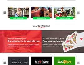 #7 za New Wordpress Theme for Online Gambling Site od summergill001