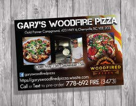 #11 for Create a 3X2 print pizza biz advert av nicoleplante7