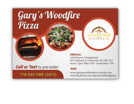 #15 for Create a 3X2 print pizza biz advert av moldudy3