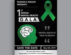 #19 para design beautiful digital flyer - Mental Health Gala por darbarg
