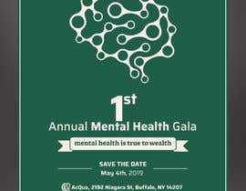 #13 para design beautiful digital flyer - Mental Health Gala por YoussefTl