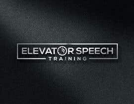"#149 untuk logo for ""elevator speech training"" oleh monirhossian0987"
