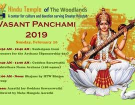#20 for Vasant Panchami poster av sarasubotic