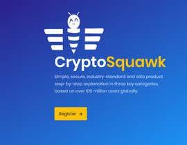 #1 for CryptoSquawk logo av naeemjr