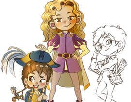 nº 51 pour Draw 3 'kid hero' characters - winner also gets a full width 'wallpaper' task to do :) par aidelidiya