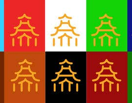 #3 pёr I need my logo on deferent background color  My logo color is orange, I wanna it to be on nga amitdharankar