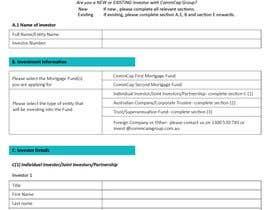 #2 pёr Design editable PDF Application Form nga albab8921